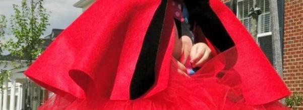Como hacer tu disfraz Caperucita Roja